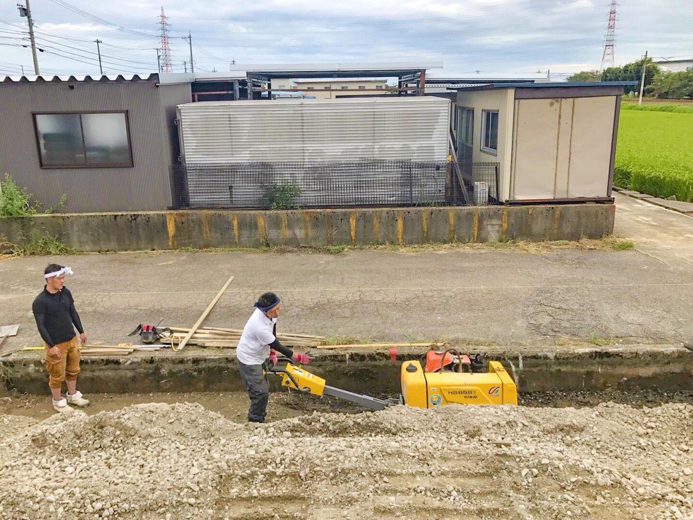 高岡市で土木工事を手掛けています